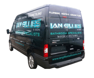 Ian Gillies Bathroom Specialist van